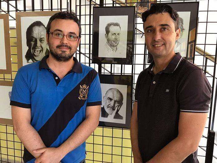 Alberto Arroyo y Juan Maria Delfa