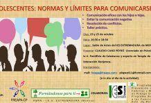 """Charla en el IES Extremadura """"Adolescentes Normas y límites para comunicarse"""""""