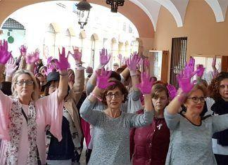 Día mundial contra el cáncer de mama en Montijo