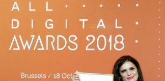Gema Parrado León, finalista en los All Digital Awards 2018