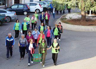 IV Caminata Intergeneracional con motivo de la Semana del Mayor de Montijo y Lácara