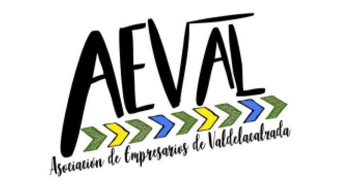 Logotipo de la la Asociación de Empresarios de Valdelacalzada (AEVAL)