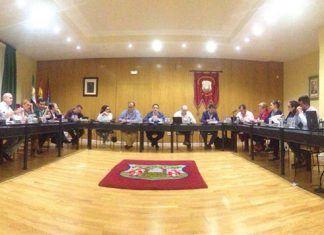 Pleno de octubre de 2018 del Ayuntamiento de Montijo