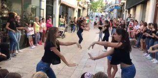 Flashmob en ComerciArte 2018 Montijo