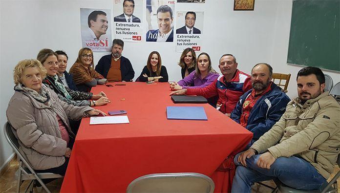 Asamblea general del PSOE de Lobón