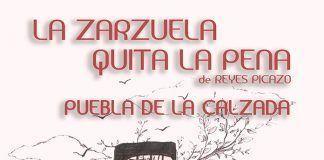 CARTEL La ZARZUELA quita la pena