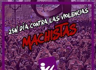 COMUNICADO SOBRE EL 25 DE NOVIEMBRE DIA INTERNACIONAL CONTRA LAS VIOLENCIAS MACHISTAS de IU Montijo