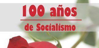 Cartel 100 años PSOE Montijo