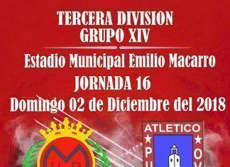 Cartel UD Montijo - Atlético Pueblonuevo