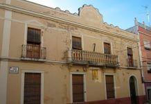 Fachada de la Cámara Agraria de Montijo