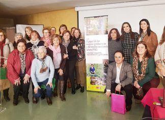 Fademur Extremadura ha abordado en una jornada celebrada en Montijo el papel de las mujeres productoras y del medio rural en la futura PAC