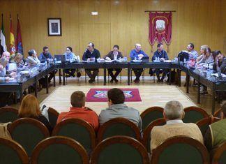 Pleno de noviembre de 2018 del Ayuntamiento de Montijo