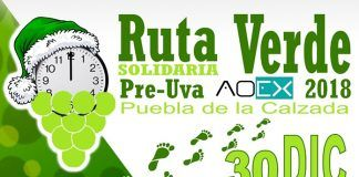 Cartel Ruta Verde solidaria + PreUva 2019, Poniendo cara al cáncer de próstata