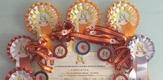 El montijano Manuel Sánchez Rodriguez consigue 7 medallas en el Campeonato Ornitologico de España