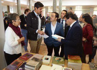 Inauguración de la la I Feria de la Cultura y el Territorio en Montijo