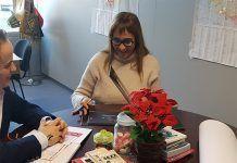 El alcalde de Montijo se reunió con la la Directora del Centro de Artes Escénicas y de la Música, Antonia Álvarez