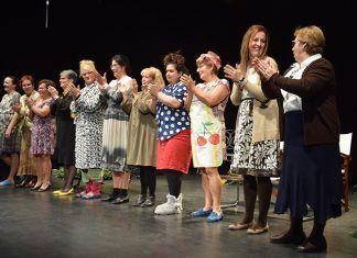 Grupo de teatro La Higuera de Puebla de la Calzada (foto Antonio Gutiérrez)