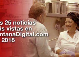Las 25 noticias más vistas en VentanaDigital.com durante 2018