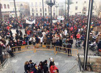 Celebración del Día de la Paz en Montijo