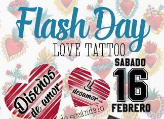 Tattoo flash day 2019 sangre negra montijo dulce tinta