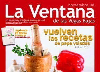 Portada de la revista La Ventana de las Vegas Bajas de noviembre de 2008