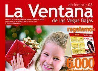 Portada de la revista La Ventana de diciembe de 2008