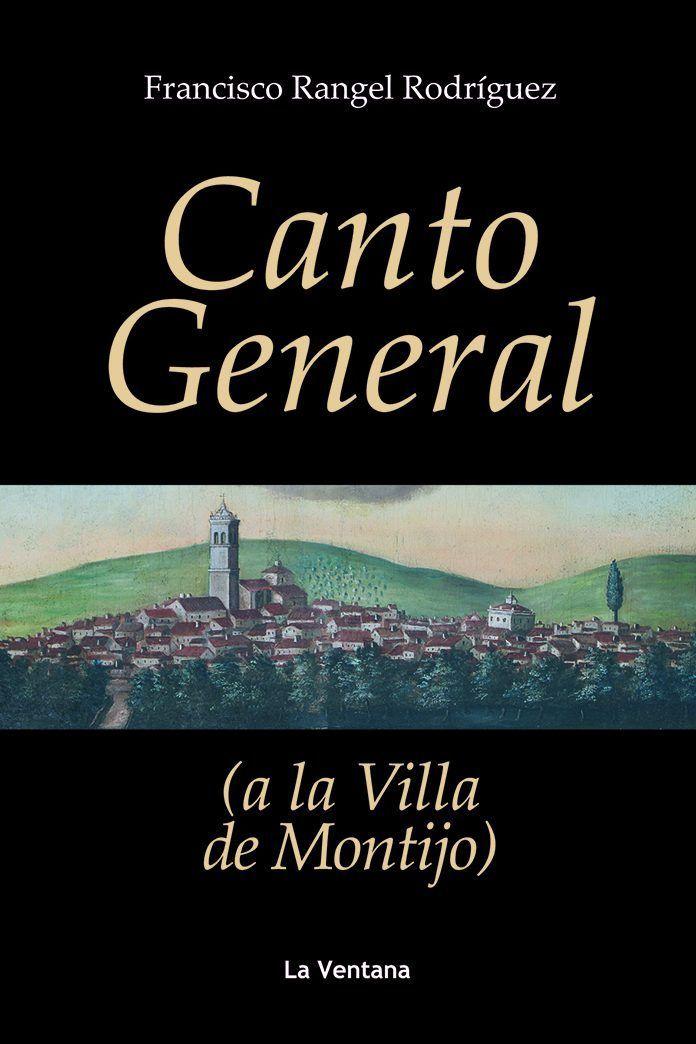 Portada del libro Canto general a la Villa de Montijo de Francisco Rangel