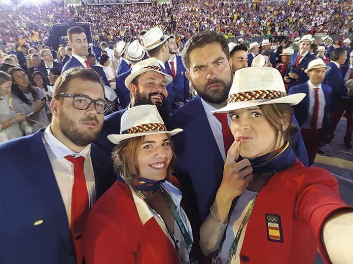 javier Cienfuegos en la ceremonia de inauguracion de los JJ OO de Río 2016