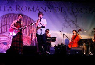 Concierto de Chloé Bird en el Festival de Teatro Villa Romana de Torreáguila de Barbaño, Montijo