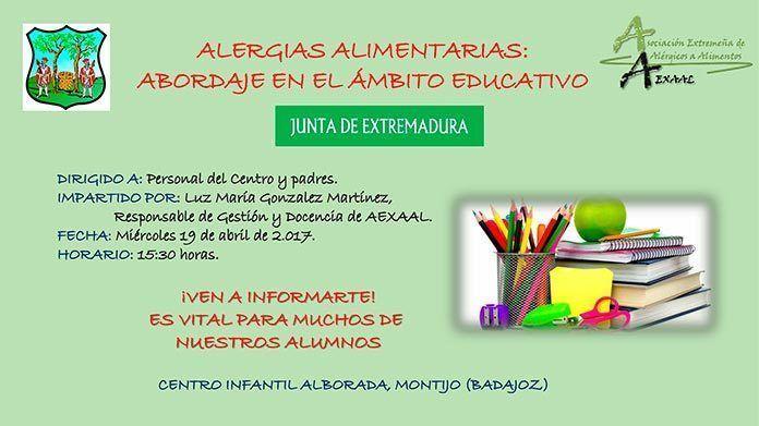 Alergias alimentarias: abordaje en el ámbito educativo