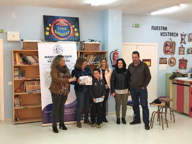 Ganadores del 2º premio del Concurso Escolar Mi madre mujer trabajadora