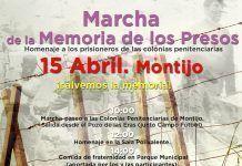 Marcha de la memoria: homenaje a los presos de las colonias penitenciarias