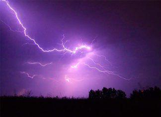 Alerta por tormentas con aparato eléctrico