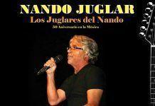 Cartel Los Juglares del Nando, de Nando Juglar
