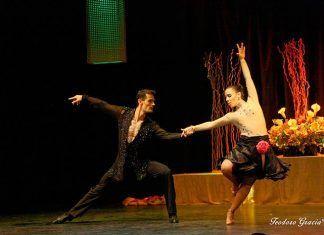 Exhibicion de baile de Barto y Maku del grupo Al Compás (foto Teodoro Gracia)