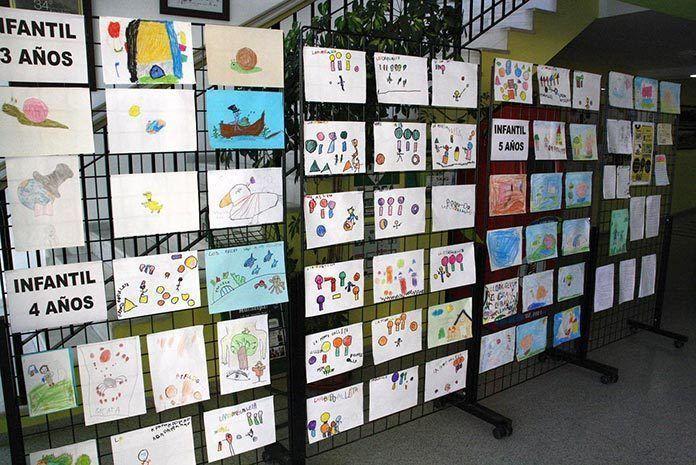 Exposición de dibujos sobre Gloria Fuertes