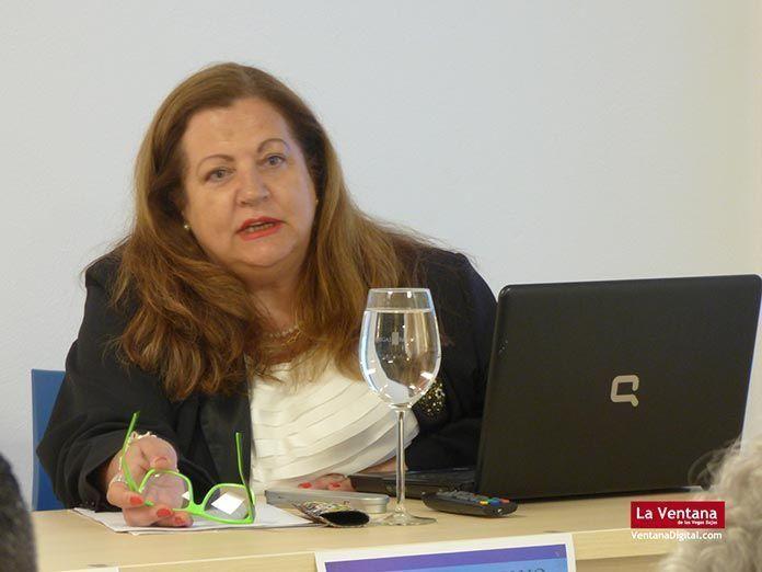 Ángela Alonso Sánchez, profesora titular de Arqueología de la UEx