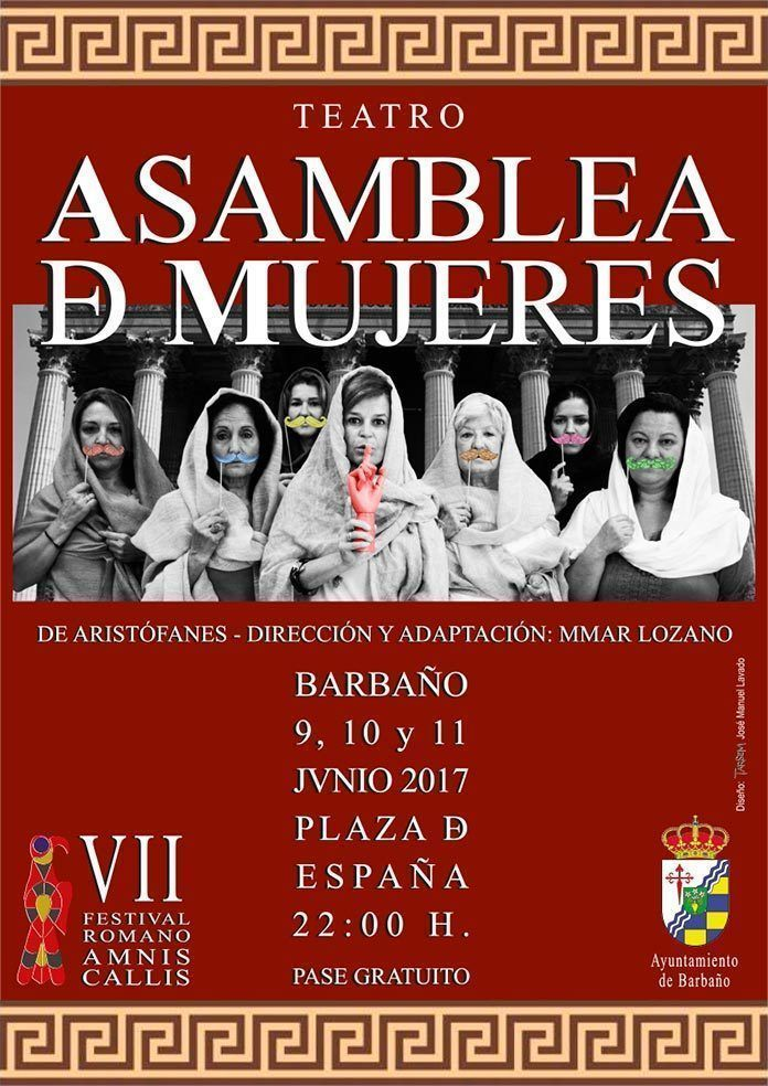 Cartel de Asamblea de Mujeres