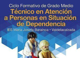 Cartel de Ciclo de Técnico de Atención a la Dependencia en Valdelacalzada