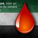 Extremadura, líder en donación de sangre en España