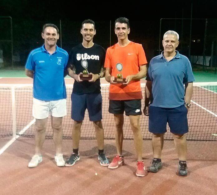 Finalistas de la XXIII Liga de Adultos de Tenis
