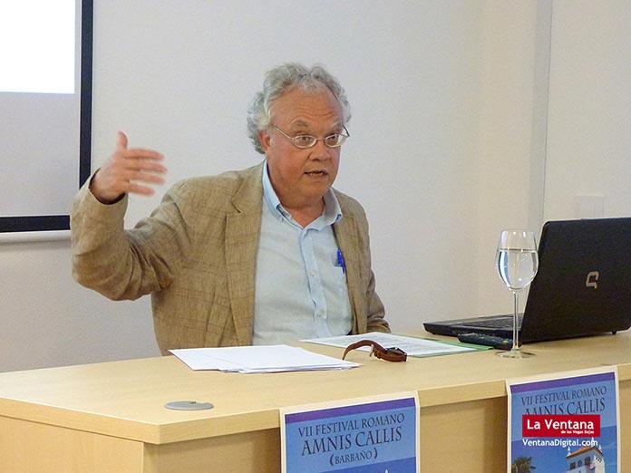 Julio Gómez Santa Cruz, profesor titular de Historia Antigua de la UEx