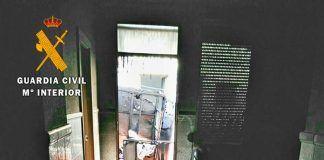 Vivienda incendiada en Arroyo de San Serván