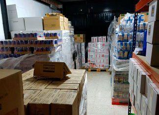 Almacén de Ayuda Alimentaria de Cruz Roja Montijo