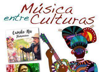 Cartel Música entre Culturas 2017 en Montijo