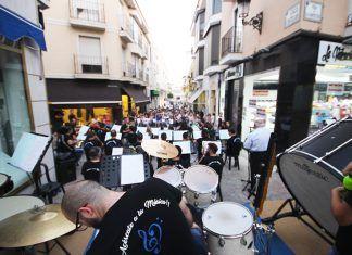 Concierto callejero de la Banda de Música Andrés Mena de Montijo