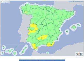 Alerta Amarilla por altas temperaturas el domingo 13 y lunes 14 de agosto