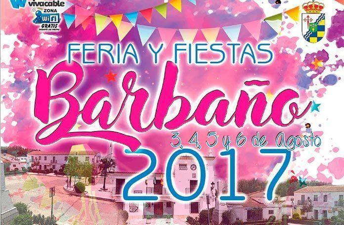 Cartel Feria y Fiestas de Barbaño 2017