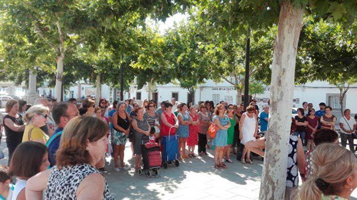 Guadiana del Caudillo con las víctimas de Barcelona y Cambrils
