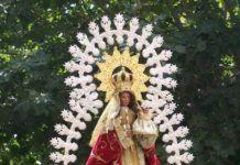 Imagen de la Virgen de Barbaño